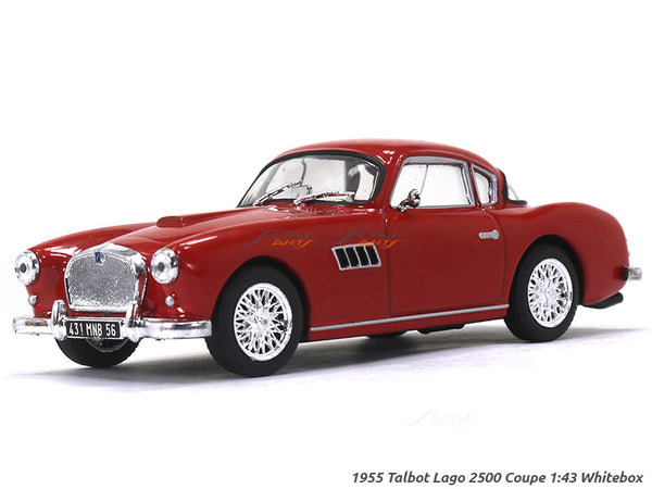1955 Talbot Lago 2500 Coupe 1:43 Whitebox diecast Scale Model Car