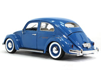 1955 Volkswagen Kafer Beetle Blue 1:18 Bburago diecast Scale Model car