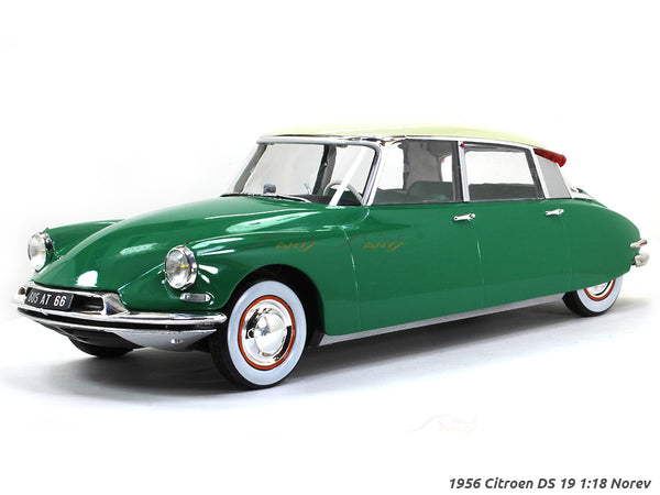 1956 Citroen DS 19 1:18 Norev scale diecast model hobby car
