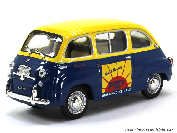 1956 Fiat 600 Multipla 1:43 diecast Scale Model Car