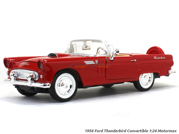 1956 Ford Thunderbird Convertible 1:24 Motormax diecast scale model car