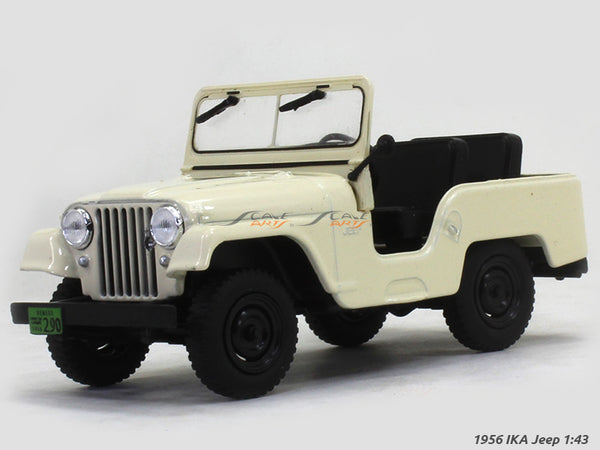 1956 IKA Jeep 1:43 diecast Scale Model Car