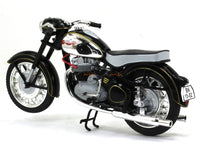1956 Jawa 500 OHC black 1:18 Abrex diecast Scale Model Bike