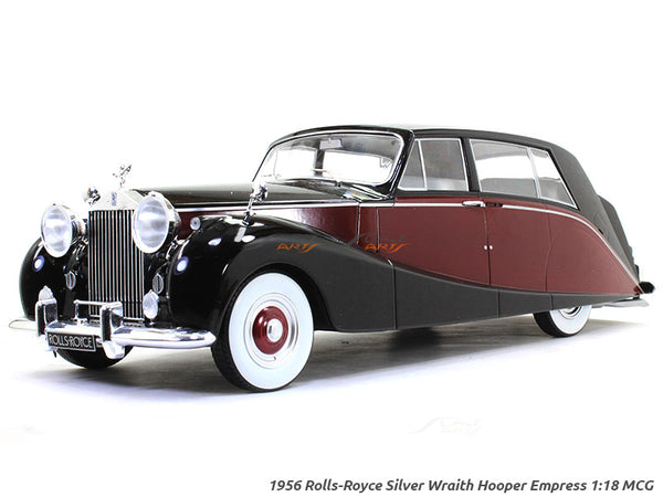 1956 Rolls-Royce Silver Wraith Hooper Empress red 1:18 MCG diecast Scale Model Car