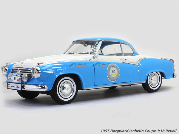 1957 Borgward Isabella Coupe 1:18 Revell diecast Scale Model Car