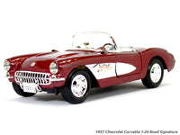 1957 Chevrolet Corvette 1:24 Road Signature diecast scale model car