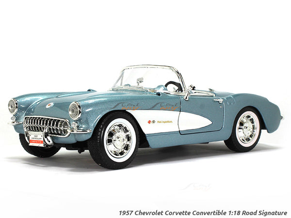 1957 Chevrolet Corvette convertible 1:18 Road Signature Yatming diecast scale model car