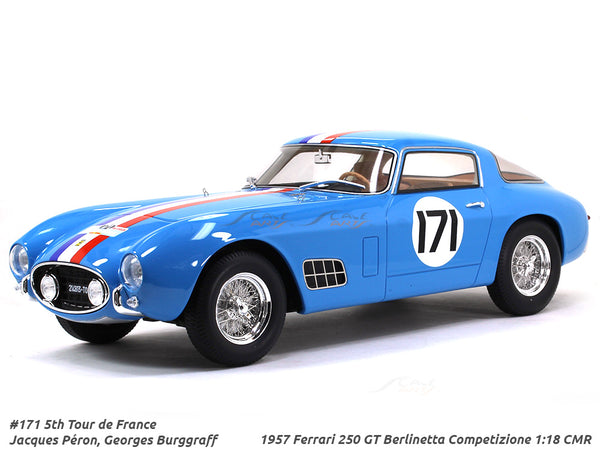 1957 Ferrari 250 GT Berlinetta Competizione #171 1:18 CMR Scale Model Car