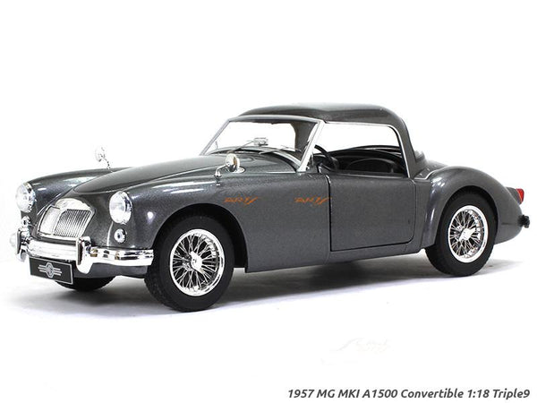 1957 MG MKI A 1500 Convertible 1:18 Triple9 diecast Scale Model Car