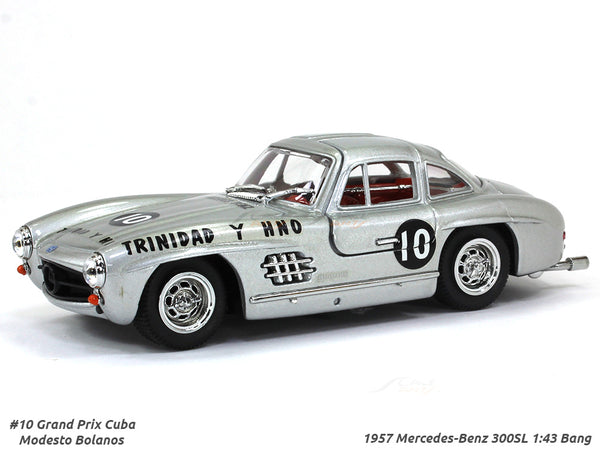 1957 Mercedes-Benz 300SL #10 Grand Prix Cuba 1:43 Bang diecast scale model