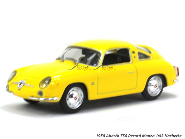 1958 Abarth 750 Record Monza 1:43 Hachette diecast Scale Model car