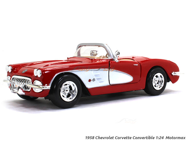 1959 Chevrolet Corvette 1:24 Motormax diecast scale model car