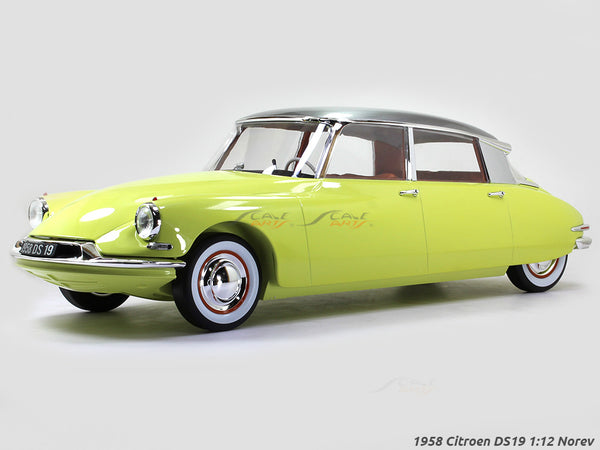 1958 Citroen DS19 1:12 Norev diecast scale model car