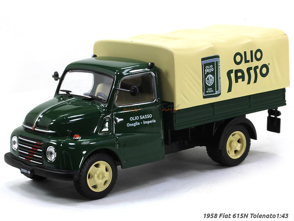 1958 Fiat 615N Tolenato 1:43 diecast Scale Model Car