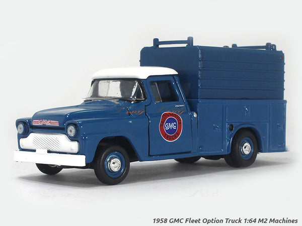 1958 GMC Fleet Option Truck 1:64 M2 Machines diecast Scale Model Truck
