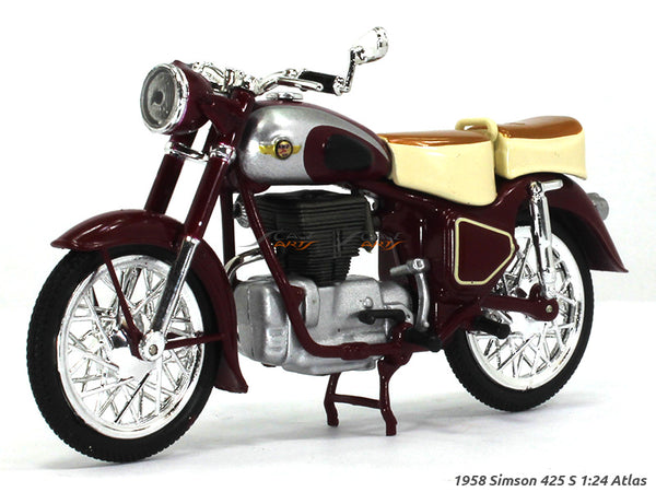 Simson 425 S 1:24 Atlas diecast Scale Model Bike