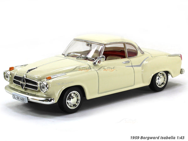1959 Borgward Isabella 1:43 diecast Scale Model Car