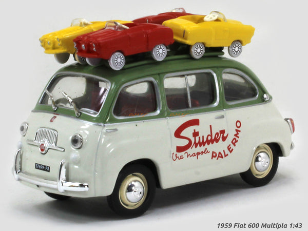 1959 Fiat 600 Multipla 1:43 diecast Scale Model Car