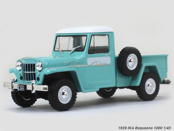 1959 IKA Baqueano 1000 Jeep 1:43 diecast Scale Model Car