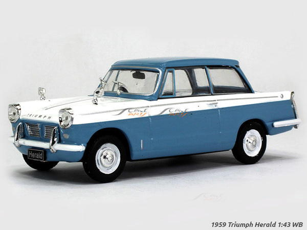 1959 Triumph Herald 1:43 Whitebox diecast Scale Model Car