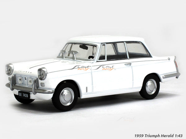 1959 Triumph Herald 1:43 diecast Scale Model Car
