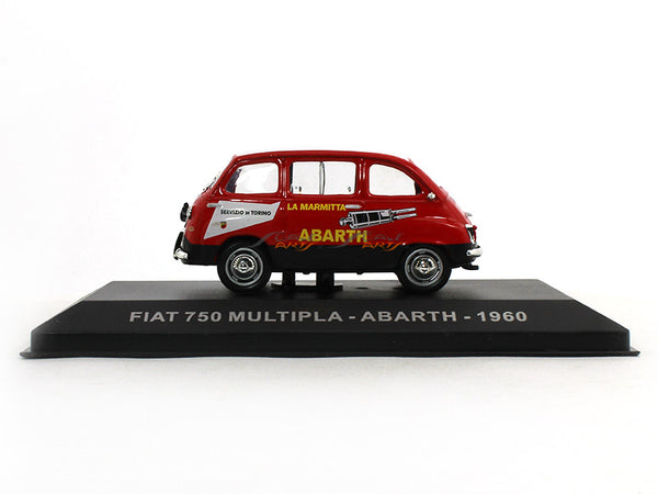 1960 FIAT 750 Multipla 1:43 diecast scale model car