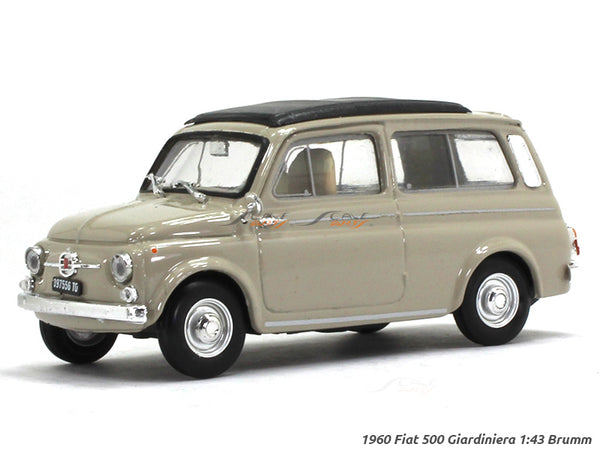 1960 Fiat 500 Giardiniera 1:43 Brumm diecast Scale Model Car