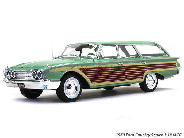 1960 Ford Country Squire green 1:18 MCG diecast Scale Model Car