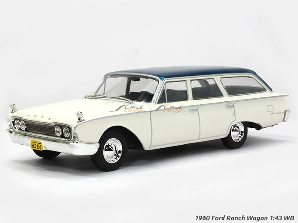 1960 Ford Ranch Wagon 1:43 Whitebox diecast Scale Model Car