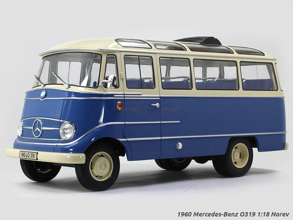 1960 Mercedes-Benz O319 1:18 Norev diecast scale model bus