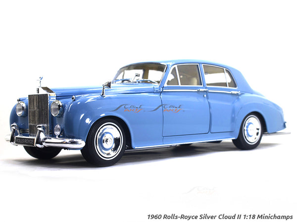1960 Rolls-Royce Silver Cloud II 1:18 Minichamps diecast scale model car