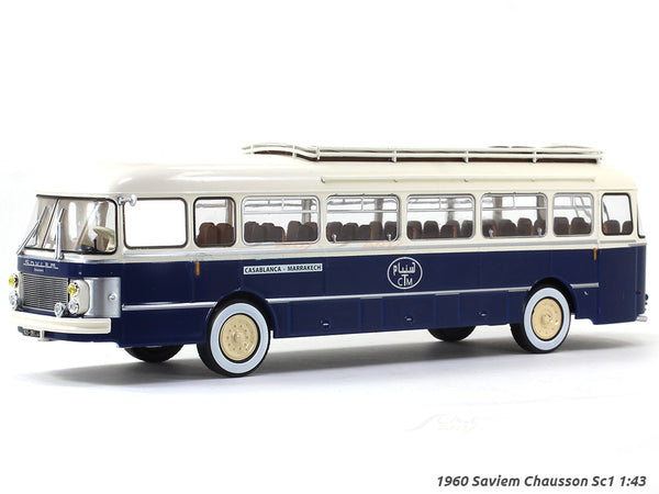 1960 Saviem Chausson Sc1 1:43 diecast Scale Model Bus
