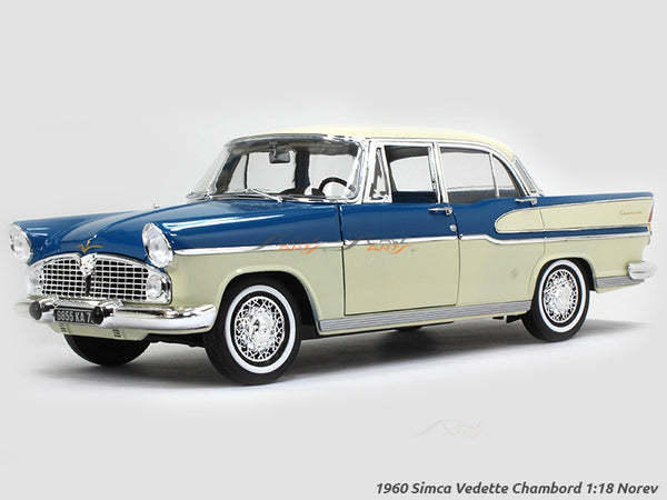 1960 Simca Vedette Chambord 1:18 Norev diecast scale model car