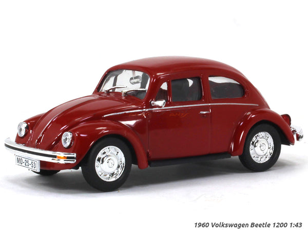 1960 Volkswagen Beetle 1200 1:43 diecast scale model car