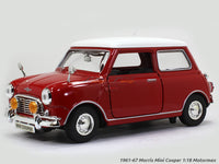 1961-67 Morris Mini Cooper 1:18 Motormax diecast scale model car