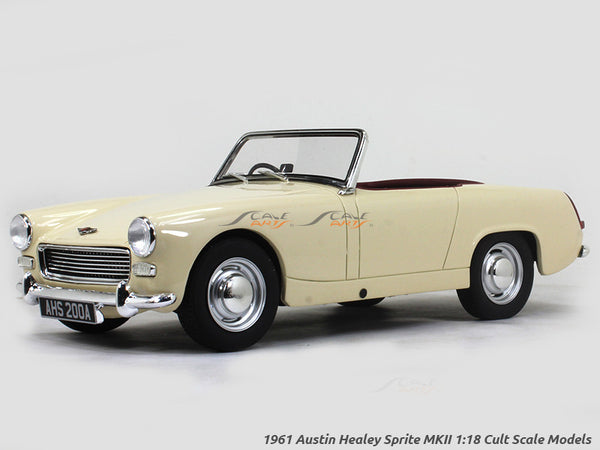 1961 Austin Healey Sprite MKII 1:18 Cult Scale Models car replica