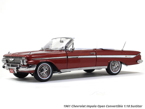 1961 Chevrolet Impala Open Convertible 1:18 Sunstar diecast Scale Model car