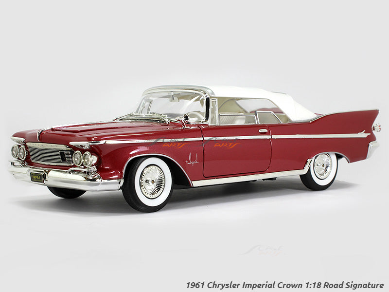 1961 Chrysler Imperial Crown 1 18 Road Signature Yatming