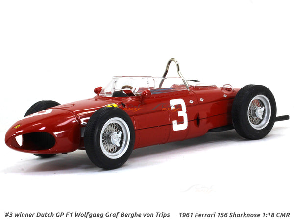 1961 Ferrari 156 Sharknose #3 1:18 CMR diecast Scale Model Car