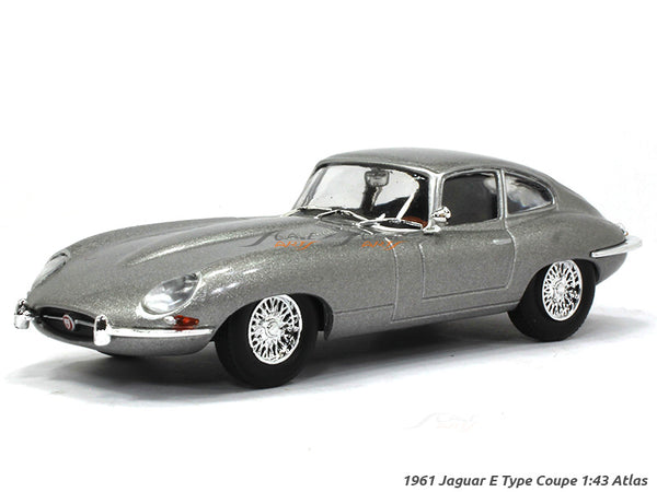 1961 Jaguar E Type Coupe 1:43 Atlas diecast scale model car