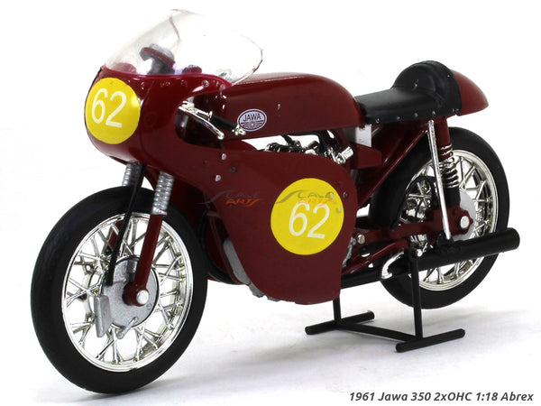 1961 Jawa 350 2xOHC #62 1:18 Abrex diecast Scale Model Bike