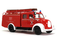 1961 Magirus-Deutz Mercur TLF16 Fire engine 1:43 Road Signature Yatming diecast scale model truck
