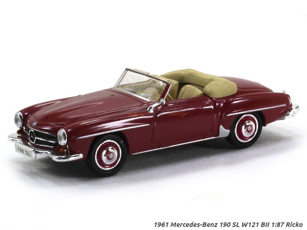 1961 Mercedes-Benz 190 SL W121 BII 1:87 Ricko HO Scale car