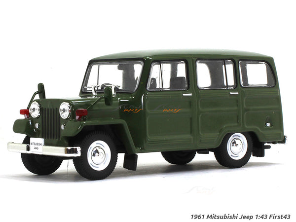 1961 Mitsubishi Jeep 1:43 First43 diecast Scale Model Car