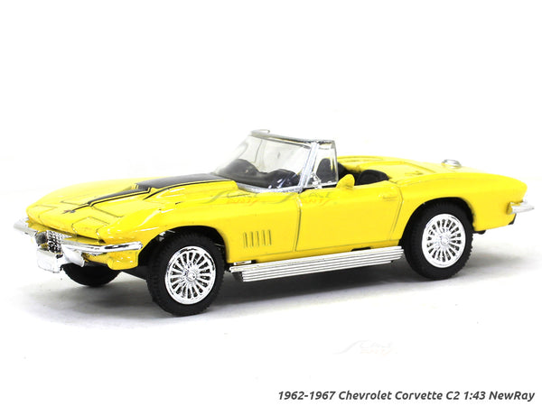 1962-1967 Chevrolet Corvette C2 1:43 NewRay diecast Scale Model Car