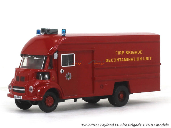1962-1977 Leyland FG Fire Brigade 1:76 BT Models diecast scale model truck