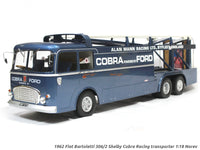 1962 Fiat Bartoletti 306/2 Shelby Cobra Racing transporter 1:18 Norev diecast scale model truck