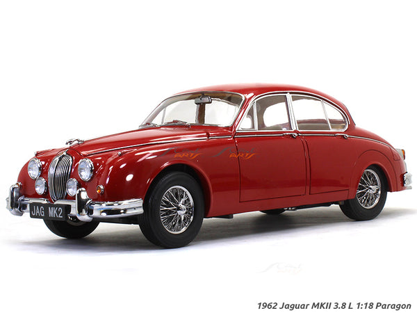 1962 Jaguar MKII 3.8 L 1:18 Paragon diecast scale model car