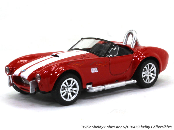 1962 Shelby Cobra 427 S/C 1:43 Shelby Collectibles diecast Scale Model Car