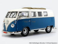 1962 VolksWagen Microbus blue 1:18 Road Signature Yatming diecast scale model car